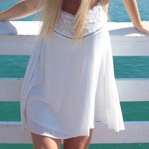 ANGL White Dress